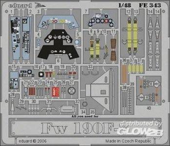 Focke-Wulf Fw 190 F-8 [Tamiya] · EDU FE343 ·  Eduard · 1:48