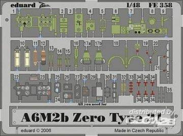 A6M2b Zero type 21 · EDU FE358 ·  Eduard · 1:48