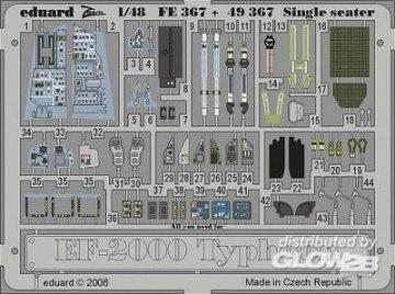 EF-2000 Typhoon Single Seater [Revell] · EDU FE367 ·  Eduard · 1:48