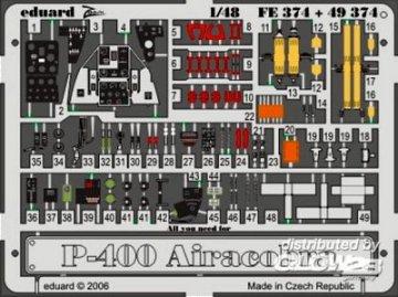 P-39/P-400 Airacobra [Hasegawa] · EDU FE374 ·  Eduard · 1:48