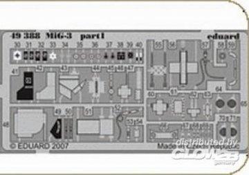 MiG-3 [Trumpeter] · EDU FE388 ·  Eduard · 1:48
