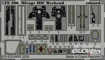 Mirage IIIC - Weekend Edition [Eduard] · EDU FE396 ·  Eduard · 1:48
