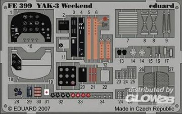 Yak-3 - Weekend Edition [Eduard] · EDU FE399 ·  Eduard · 1:48