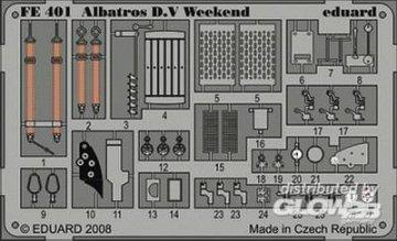 Albatros D.V - Weekend Edition [Eduard] · EDU FE401 ·  Eduard · 1:48