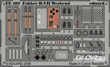 Fokker D.VII  - Weekend Edition [Eduard] · EDU FE402 ·  Eduard · 1:48