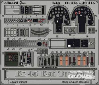 Ki-45 Kai Toryu S.A. [Hasegawa] · EDU FE415 ·  Eduard · 1:48