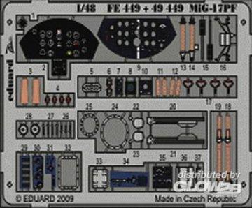 MiG-17PF S.A. [HobbyBoss] · EDU FE449 ·  Eduard · 1:48