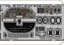 B-24D - Cockpit - Interior S.A. [Revell] · EDU FE474 ·  Eduard · 1:48