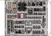 F6F-3 - Interior S.A. [HobbyBoss] · EDU FE478 ·  Eduard · 1:48
