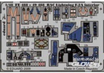 BAC Lightning F.2A - Interior S.A. [Airfix] · EDU FE488 ·  Eduard · 1:48