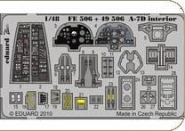 A-7D - Interior S.A. [HobbyBoss] · EDU FE506 ·  Eduard · 1:48