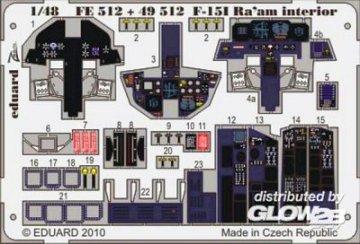 F-15l Ra´aM - Interior S.A. [Academy] · EDU FE512 ·  Eduard · 1:48