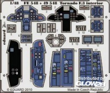Tornado F.3 - Interior S.A. [HobbyBoss] · EDU FE548 ·  Eduard · 1:48