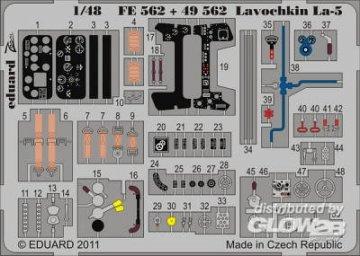 Lavochkin La-5 S.A. [Zvezda] · EDU FE562 ·  Eduard · 1:48