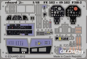 F3H-2 S.A. [HobbyBoss] · EDU FE582 ·  Eduard · 1:48