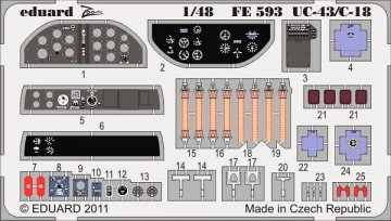 UC-43/C-18 S.A. [Roden] · EDU FE593 ·  Eduard · 1:48