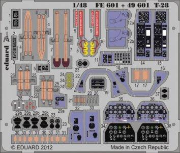 T-28 S.A. [Roden] · EDU FE601 ·  Eduard · 1:48
