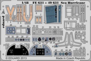 Sea Hurricane S.A. [Italeri] · EDU FE631 ·  Eduard · 1:48