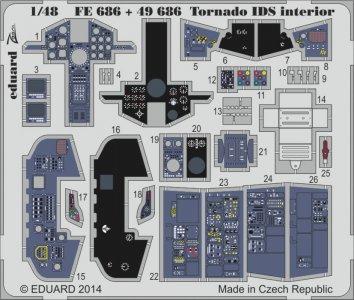 Tornado IDS interior S.A. [Revell] · EDU FE686 ·  Eduard · 1:48