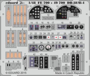 DB-3F/II-4 [Xuntong Model] · EDU FE700 ·  Eduard · 1:48