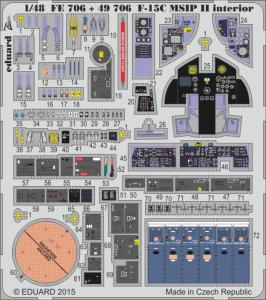F-15C MSIP II - Interior [Great Wall Hobby] · EDU FE706 ·  Eduard · 1:48