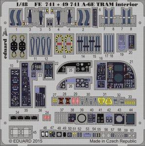 A-6E TRAM Intruder - Interior [HobbyBoss] · EDU FE741 ·  Eduard · 1:48