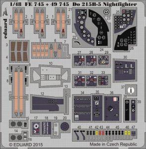 Dornier Do 215 B-5 Nightfighter [ICM] · EDU FE745 ·  Eduard · 1:48