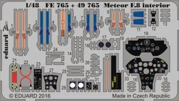 Gloster Meteor F8 [Airfix] · EDU FE765 ·  Eduard · 1:48