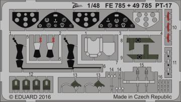 Stearman PT-17 Kaydet [Revell] · EDU FE785 ·  Eduard · 1:48