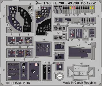 Dornier Do 17 Z-2 [ICM] · EDU FE790 ·  Eduard · 1:48