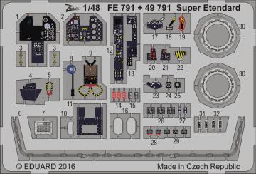 Super Etendard [Kitty Hawk] · EDU FE791 ·  Eduard · 1:48