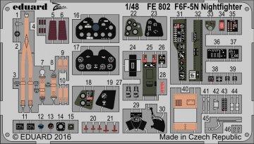 F6F-5N Nightfighter [Eduard] · EDU FE802 ·  Eduard · 1:48