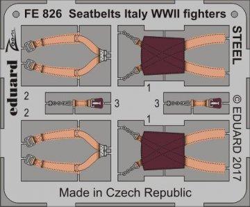 Seatbelts Italy WWII fighters STEEL · EDU FE826 ·  Eduard · 1:48