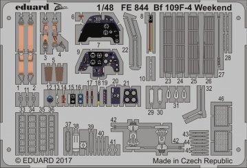 Messerschmitt Bf 109F-4 - Weekend Edition [Eduard] · EDU FE844 ·  Eduard · 1:48