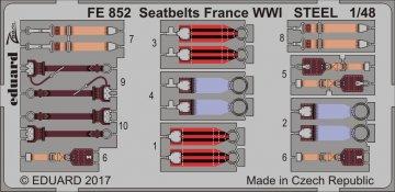 Seatbelts France WWI · EDU FE852 ·  Eduard · 1:48