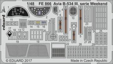 Avia B-534 III.serie - Weekend Edition [Eduard] · EDU FE866 ·  Eduard · 1:48