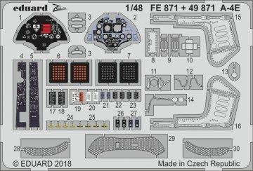 A-4E Sky Hawk  [HobbyBoss] · EDU FE871 ·  Eduard · 1:48