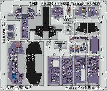 Tornado F.3 ADV [Revell] · EDU FE880 ·  Eduard · 1:48