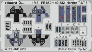 Harrier T.4/T.8 [Kinetic] · EDU FE882 ·  Eduard · 1:48
