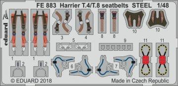 Harrier T.4/T.8 - Seatbelts STEEL [Kinetic] · EDU FE883 ·  Eduard · 1:48