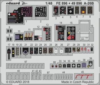 A-26B Invader [Revell] · EDU FE896 ·  Eduard · 1:48
