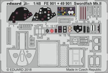 Swordfish Mk.II [Tamiya] · EDU FE901 ·  Eduard · 1:48