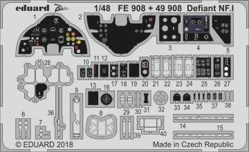 Boulton Paul Defiant NF.1 [Airfix] · EDU FE908 ·  Eduard · 1:48