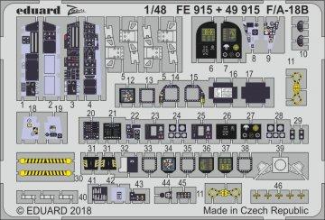 F/A-18B [Kinetic] · EDU FE915 ·  Eduard · 1:48