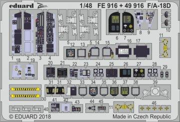 F/A-18D [Kinetic] · EDU FE916 ·  Eduard · 1:48