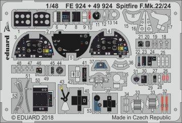 Spitfire F.Mk.22/24 [Airfix] · EDU FE924 ·  Eduard · 1:48