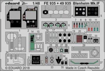 Bistol Blenheim Mk.IF [Airfix] · EDU FE935 ·  Eduard · 1:48