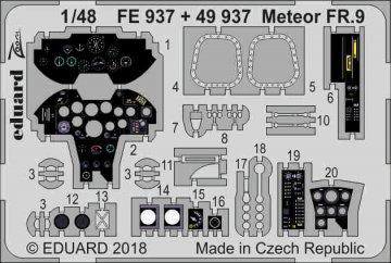 Gloster Meteor FR.9 [Airfix] · EDU FE937 ·  Eduard · 1:48