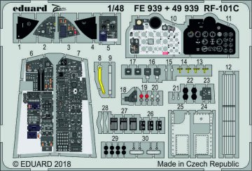 RF-101C Voodoo [Kitty Hawk] · EDU FE939 ·  Eduard · 1:48
