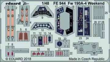 Focke Wolf Fw 190 A-4 - Weekend Edition [Eduard] · EDU FE944 ·  Eduard · 1:48